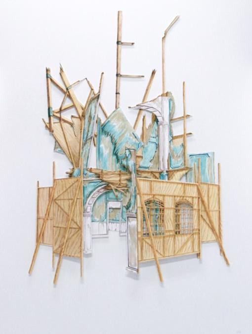Imagen de una de las obras seleccionadas por la Fundación Hortensia Herrero