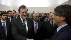 Rajoy advierte a Puigdemont: «La disgregación lleva a la irrelevancia e impotencia»