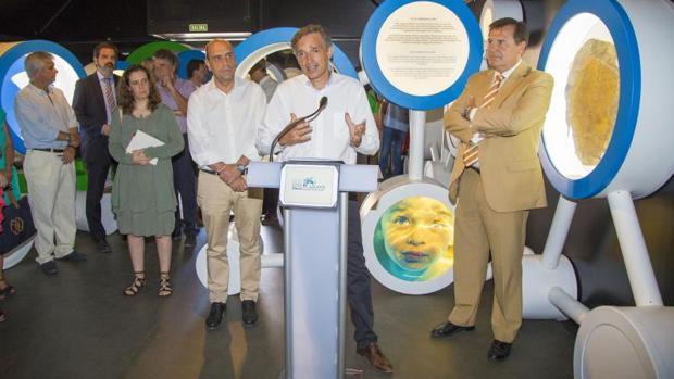 Inauguración de la exposición «H2Oh» de Aguas de Alicante, recientemente