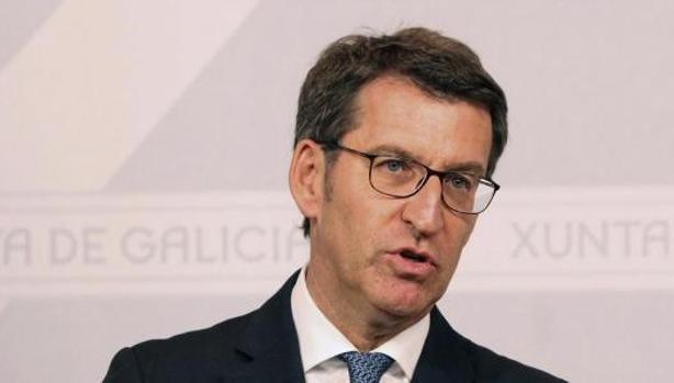 Alberto Núñez Feijóo, presidente en funciones de la Xunta