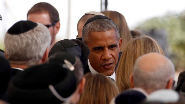 Barack Obama, en los actos en reconocimiento a Simon Peres