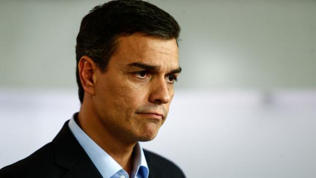 El secretario general del PSOE, Pedro Sánchez, el pasado lunes