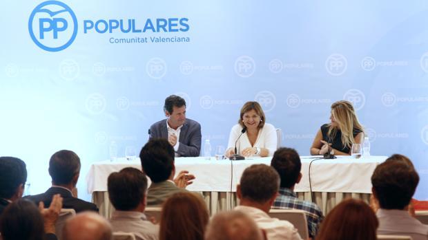 Císcar, Bonig y Ortiz, en la Junta Directiva Regional que se celebra en Dénia