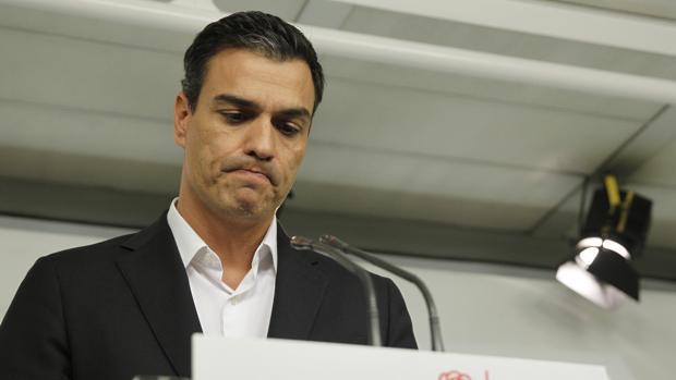 Pedro Sánchez, durante su comparecencia sin preguntas de este viernes