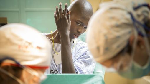 El equipo médico, operando en la región de Kenia hace un año