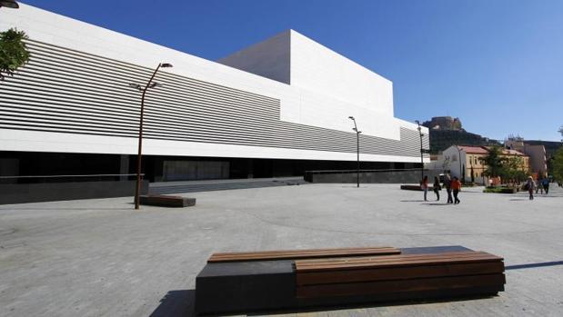 El auditorio ADDA de la Diputación de Alicante, sede del primer foro nacional