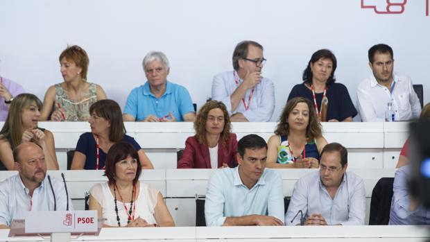 El Comité Federal del PSOE, en una de sus últimas reuniones