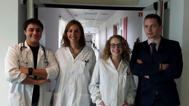 Juan Manuel Vázquez, Ana Latorre, Olalla Maroñas y Adrián Caamaño, promotores de GenDr