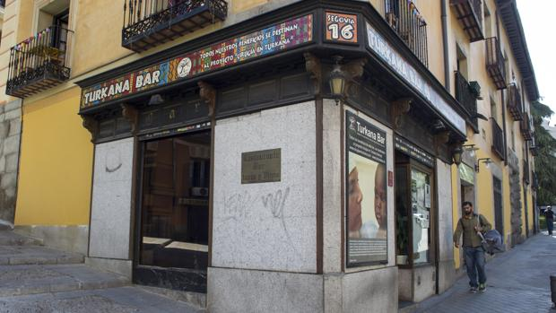 Turkana Bar, en el barrio de la Latina de Madrid