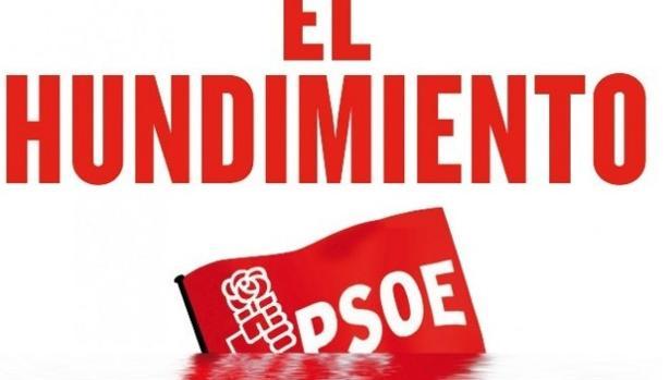 «EL hundimiento» del PSOE según Twitter