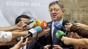 Ximo Puig aísla a su Gobierno y al grupo en las Cortes Valencianas de la crisis del PSOE