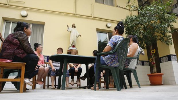 Imagen de la casa para la reinserción de mujeres presas
