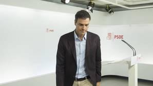 La dimisión de Pedro Sánchez ahonda el debate sobre la postura del PSOE frente a la formación del gobierno