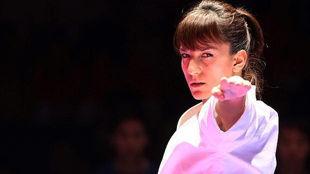 Sandra Sánchez no ha tenido que competir este domingo para proclamarse campeona de la Liga Mundial