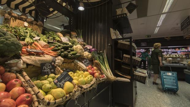 Supermercado del Corte Inglés, uno de los centros con los que trabaja DelSúper