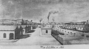 En imágenes: Las fortificaciones de la Fábrica de Armas durante la tercera guerra carlista