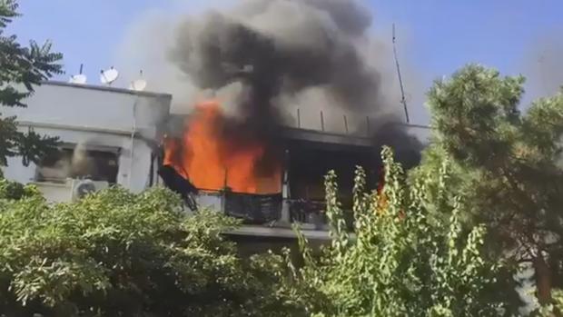 Incendio en una vivienda del Paseo de la Habana, 68