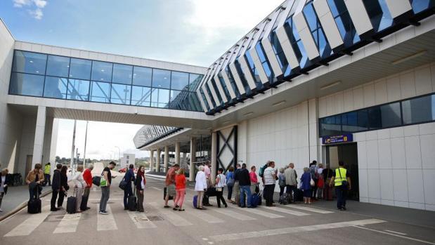 Imagen del aeropuerto de Castellón en septiembre de 2015