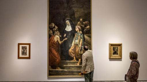 Una de las obras de la muestra de Pinazo que acoge Valencia desde el 4 de octubre