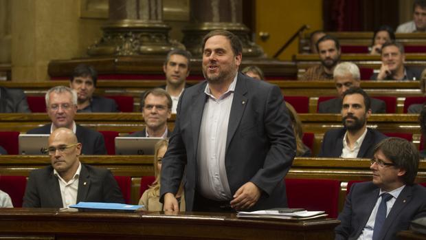 El vicepresidente catalán, Oriol Junqueras