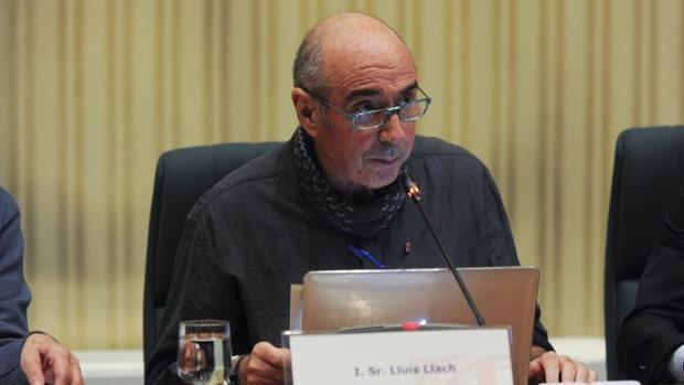 Lluis Llach, diputado de «Junts pel sí», en una imagen de archivo