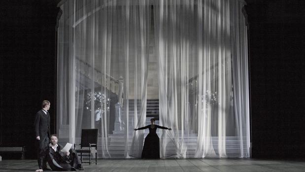 El montaje de este «Macbeth» corre a cargo de Christof Loy