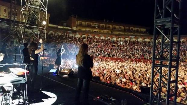 El último concierto de Malú en Toledo fue en 2014