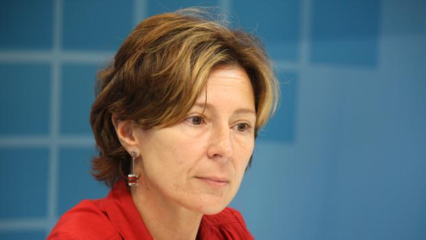 La secretaria de la agrupación local del PSdeG de La Coruña, Mar Barcón.