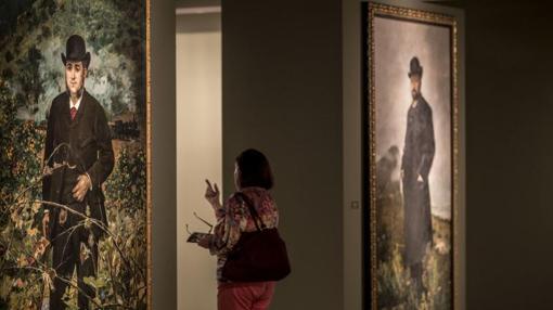 Obras de Pinazo expuestas en el Museo de Bellas Artes y el Centro Cultural Bancaixa