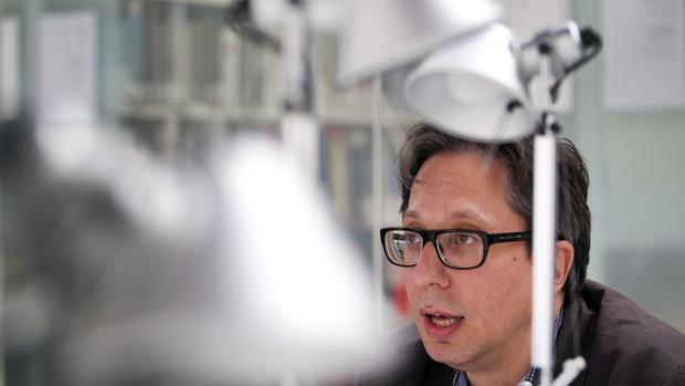 El director del MACBA, Ferran Barenblit