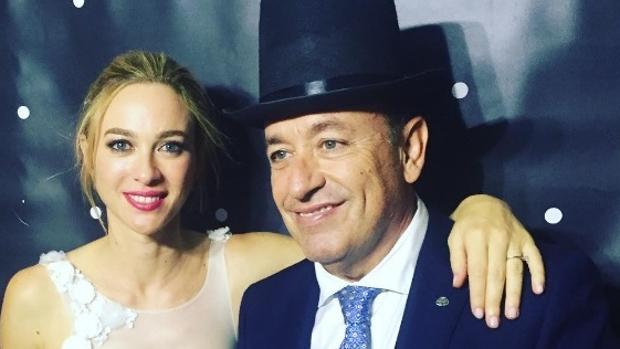 Marta Hazas con Félix Ramiro