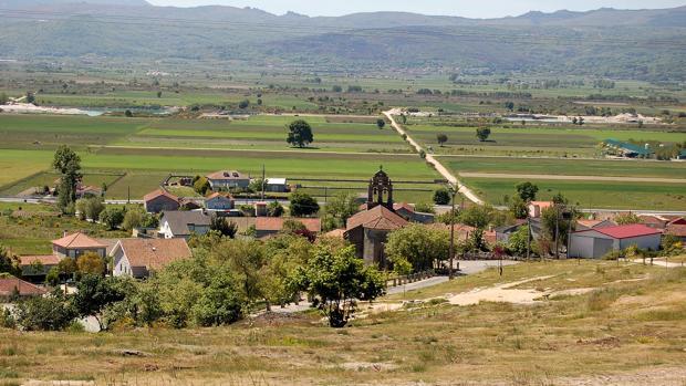 Perspectiva del concello orensano de Vilar de Santos