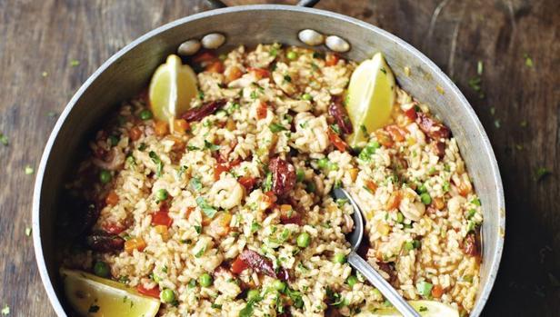 Imagen del arroz preparado por Jamie Oliver