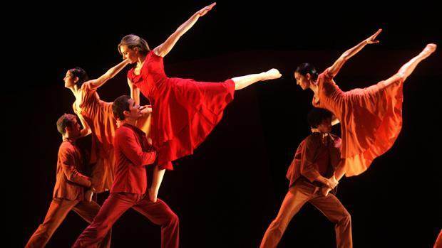 Imagen del Balet de la Generalitat durante una actuación