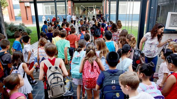 Imatge d'una escola de València