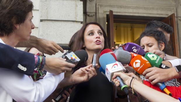 Andrea Levy, vicesecretaria del PP