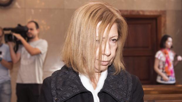 La expresidenta del Consell de Mallorca , Maria Antònia Munar, este martes