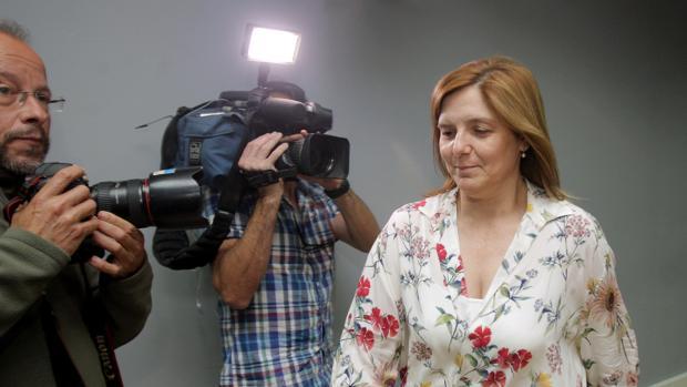 Cancela, durante una comparecencia en la sede del PSdG