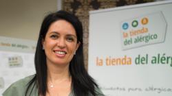 Alicia Alonso, propietaria de «La Tienda del alérgico» en Valladolid