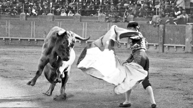 Joselito -el menor de los Gallo-, en una tarde de triunfo en Zaragoza