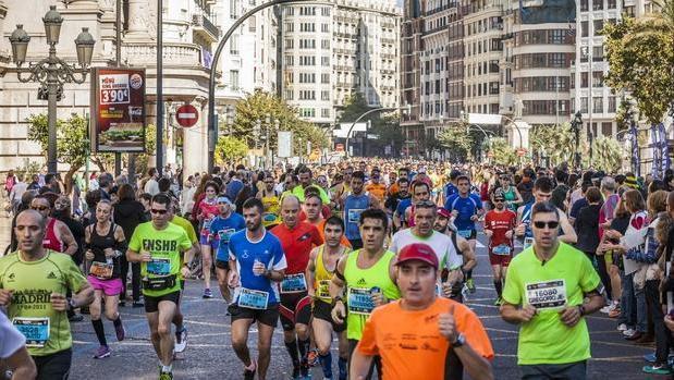 El medio maratón de Valencia, en una edición anterior