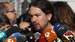 Pablo Iglesias: «En ningún caso el señor Pedro Sánchez intentó un Gobierno con nosotros»