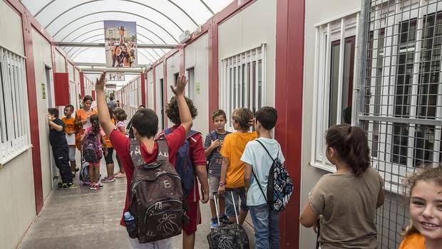 Imagen de archivo de un colegio público de Valencia