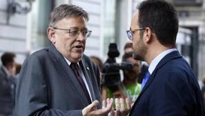 Ximo Puig reitera su «no» a Mariano Rajoy y mitiga las críticas de sus socios de Podemos