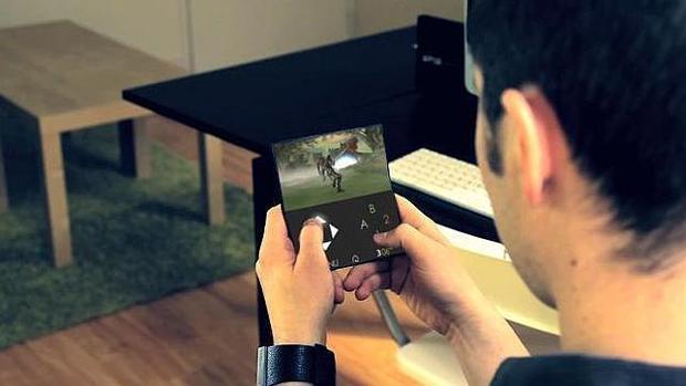 Imagen de uno de los smartphone del futuro