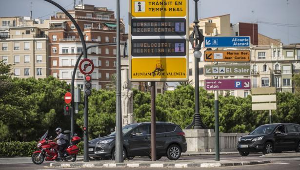 Imagen de archivo tomada en el centro de Valencia