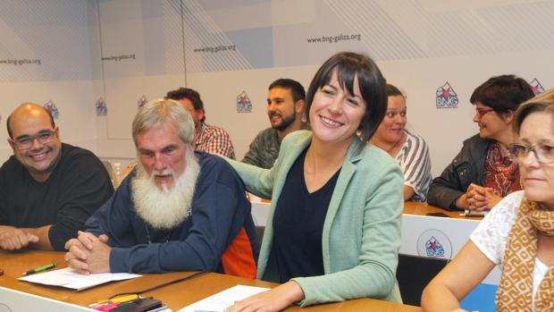La líder del BNG, Ana Pontón, preside la última reunión del Consello Nacional