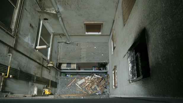El inmueble en el que se ha producido el incendio no ha sufrido afectaciones estructurales