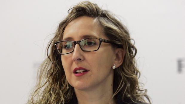 La portavoz del grupo municipal del PP de Ferrol, Martina Aneiros.