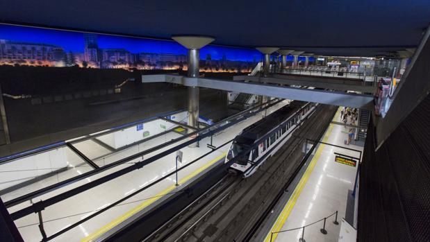 Estación del Metro de Madrid
